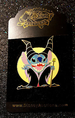 Disney Auctions Stitch as Maleficient Limited Edition Pin NOC Costume