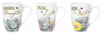Me To You Tatty Teddy Boxed Mug ~ MUM, SISTER, DAUGHTER, Blue Nose Bear Gift