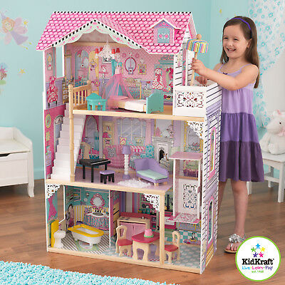 Kidkraft  Annabelle Doll House with Furniture Girls Pretend Play NEW
