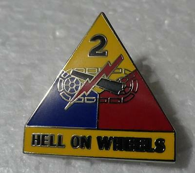 2nd Armored Division - Hat Pin