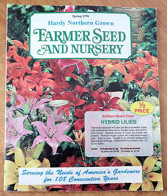 Farmer Seed and Nursery Spring 1996 Catalog Hardy Northern Grown - Gardeners