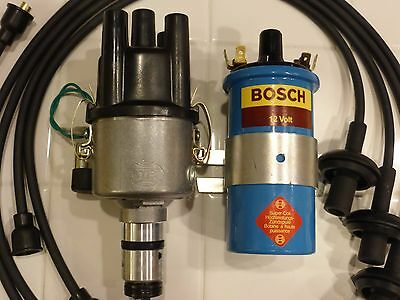 VW Bug electronic ignition centrifugal distributor like Bosch 009 Blue Coil VW