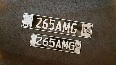QLD Personalised Number Plate 265AMG