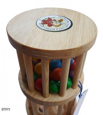 Wooden Rain Maker Handcrafted Educational Toy
