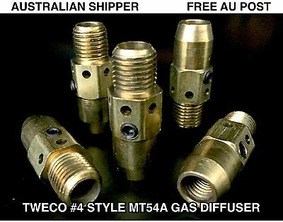 25 Pcs 54A Tweco #4 Style Gas Diffusers - Free Post