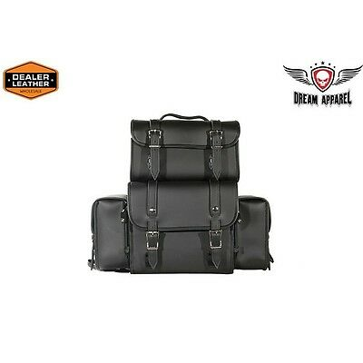 Motorcycle Sissy Bar Bag With No Studs