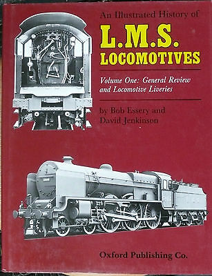 Bk1456/B3  An Illustrated History of L.M.S Locomotives