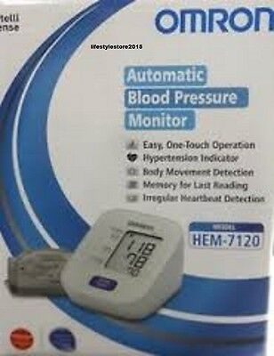 Omron HEM-7120 Upper Arm BP Monitor Automatic- (FREE SHIPPING)