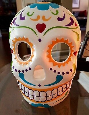 PartyLite Skeleton MasQuerade / Day of the Dead Votive Holder P91900