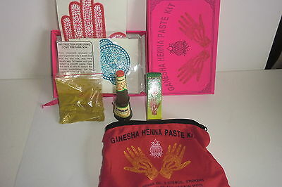 Henna Paste Kit--Ideal Starter Pack - Everything U Need  To Get Creative