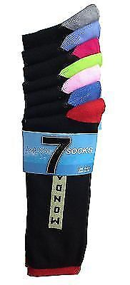 7 Days of The Week Cotton Fashion Fun Novelty Designer Men Socks Shoe Size 6-11
