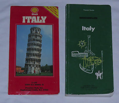 Michelin Tourist Guide - ITALY - and Shell Map for ITALY