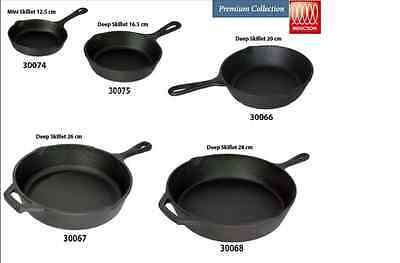 Pre-Seasoned Cast Iron Frying Pan /sizzlerfor Healthy Cooking Hot Serving Dish