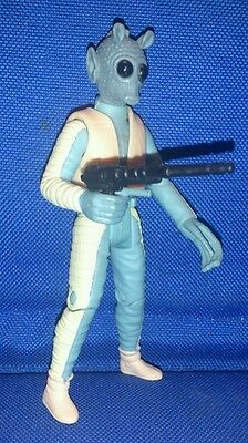 Star Wars Greedo the Bounty Hunter POTF figure with weapon loose ANH