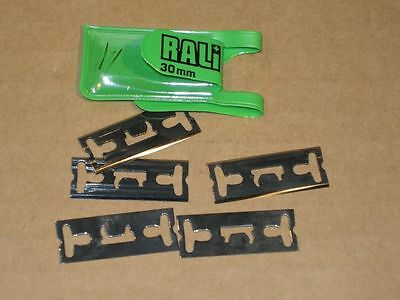 Rali Hand Plane Blades - for Rebate Plane - 30mm - Packet 5 pcs - S3536