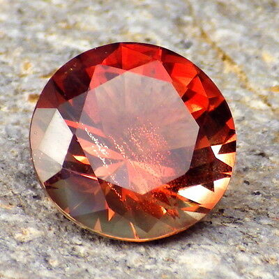 RED ORANGE GOLD SCHILLER OREGON SUNSTONE 4.92Ct FLAWLESS-FOR TOP JEWELRY!