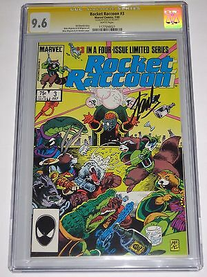Rocket Racoon #3 CGC 9.6 SS Stan Lee