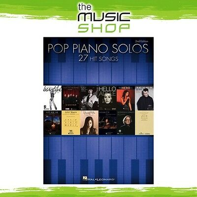 New Pop Piano Solos Music Book for Piano Solo - 2nd Edition