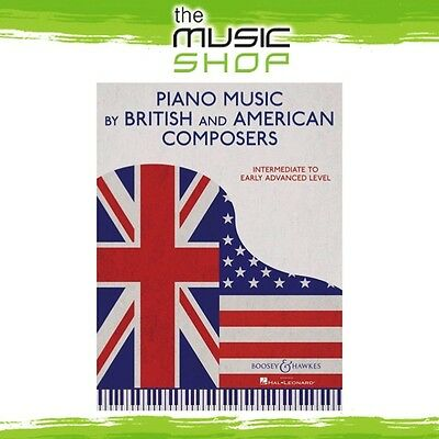 New Piano Music by British & American Composers Music Book