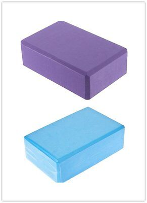 Yoga Block Brick Foaming Home Exercise Practice Fitness Sport Tool HOT MC