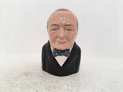 Manor Collectables British Prime Ministers Winston Churchill Toby Jug 429/1500
