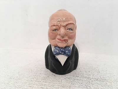 Manor Collectables British Prime Ministers Winston Churchill Toby Jug 1115/1500
