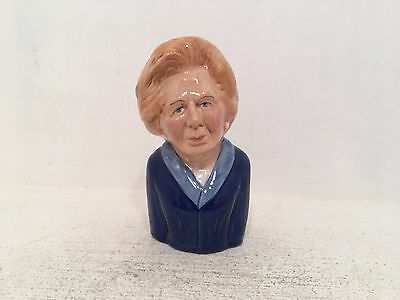Manor Collectables British Prime Ministers Margaret Thatcher Toby Jug 11/1500
