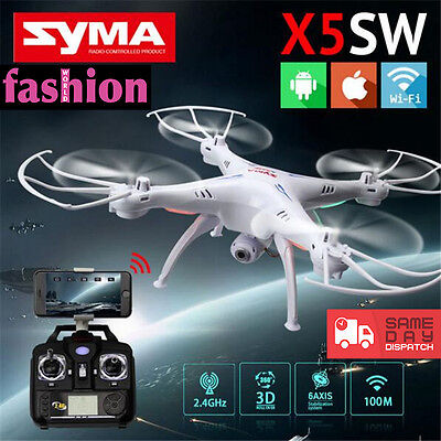 SYMA X5SW 2.4GHz 6-Axis Gyro Remote Control 50 Mtr Quadcopter Helicopter Drone