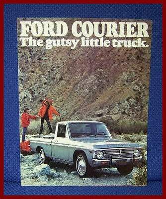 1976 Ford COURIER Pickup Truck Color Sales Brochure - New Old Stock