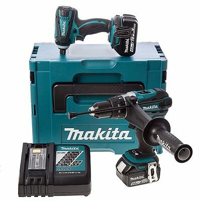 Makita DLX2005MJ 18V Combi and Impact Driver 2 x 4.0ah Li-ion