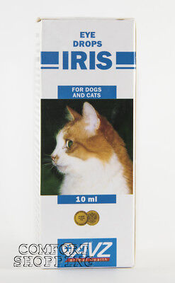 """Iris"" eye drops for cats and dogs treatment 10ml/0,34oz"