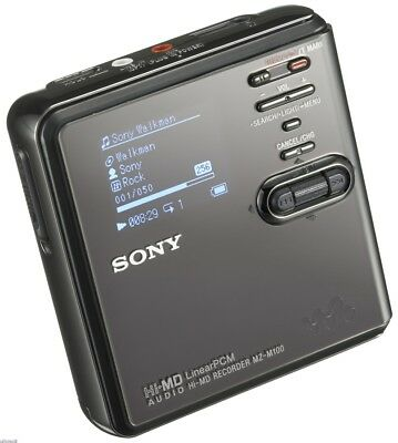 Sony Hi-MD Portable MiniDisk Recorder (MZ-M100)