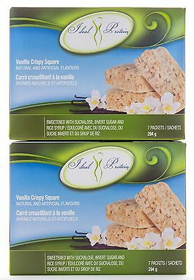 Ideal Protein Vanilla Crispy Square - 14 packets