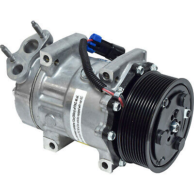 A//C Compressor and Clutch Fit  for 7512858 5735 Replaces Sanden 4745