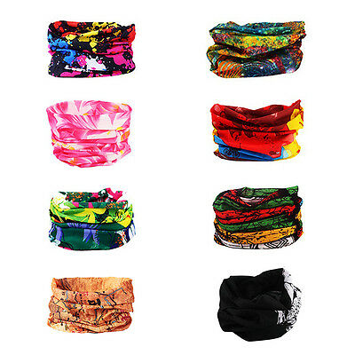 New Cycling Bicycle Outdoor Sport Multi Head Scarf Magic Headband Face Mask TMPG