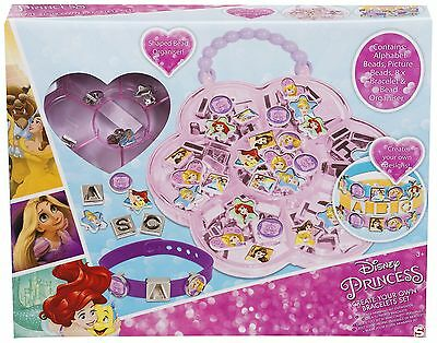 Official Disney Princess Create Your Own Bracelets & Beads Sets *NEW*