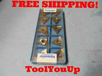10Pcs New Valenite Tnmc 43 Ng Vc5 Carbide Grooving Insert Tooling Machine Shop