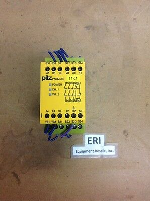 ***PERFECT*** PILZ PNOZ X3 230VAC/24VACDC 3n/o 1n/c 1so SAFETY RELAY 230. Loc46A