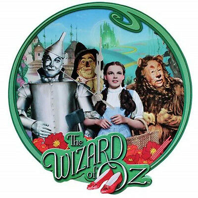 "The Wizard of Oz Dorothy and Friends 12.5"" Cordless Wall Clock, NEW SEALED"