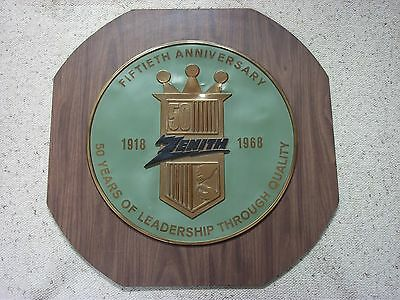 Zenith 50th Anniversary Sign