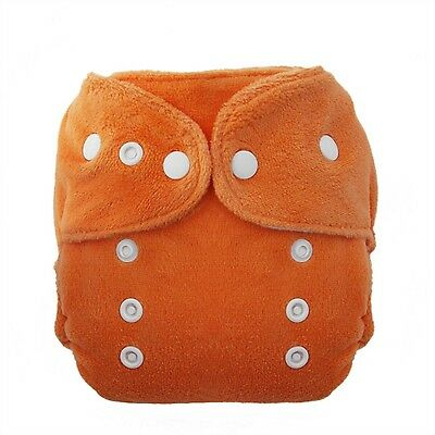 Thirsties Duo Fab Fitted Snap Cloth Diapers Mango Size Two (1... , Free Shipping