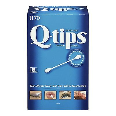 Q-Tips  Cotton Swabs 1170 Count , Free Shipping