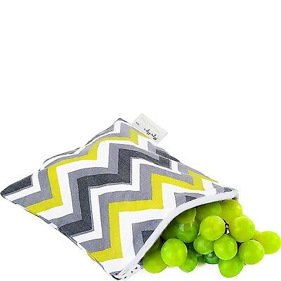 Itzy Ritzy Happens Reusable Snack and Everything Bag Sunshine... , Free Shipping