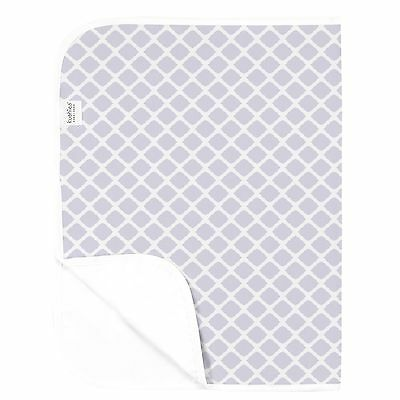 Kushies Baby Deluxe Change Pad Lilac Lattice , Free Shipping