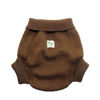 EcoPosh Wool Diaper Cover Umber Size 1 , Free Shipping