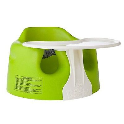 Bumbo Combo Floor Seat and Play Tray Lime , Free Shipping