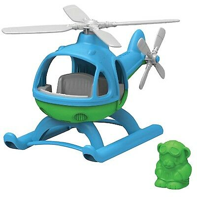 Green Toys HELB-1060 Helicopter Blue/Green , Free Shipping