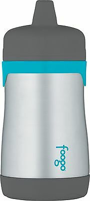 THERMOS FOOGO Vacuum Insulated Stainless Steel 10-Ounce Hard ... , Free Shipping