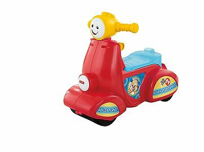 Fisher-Price Laugh and Learn Smart Stages Scooter-French , Free Shipping