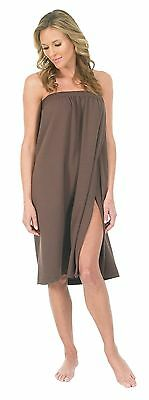 Canyon Rose Waffle Weave Spa Wrap Brown , Free Shipping